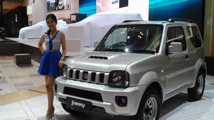 jimny facelift 2018