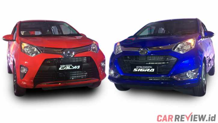 Inilah Perbedaan Toyota Calya Dengan Daihatsu Sigra Yang Baru Saja