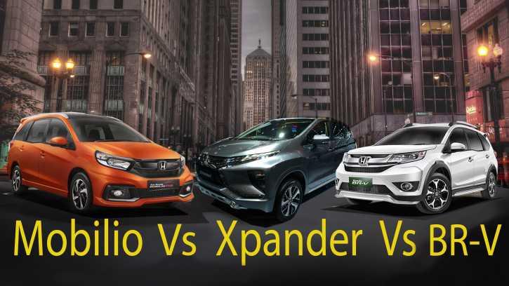 Komparasi Dimensi Dan Tenaga Mitsubishi Xpander Vs Honda Mobilio Vs