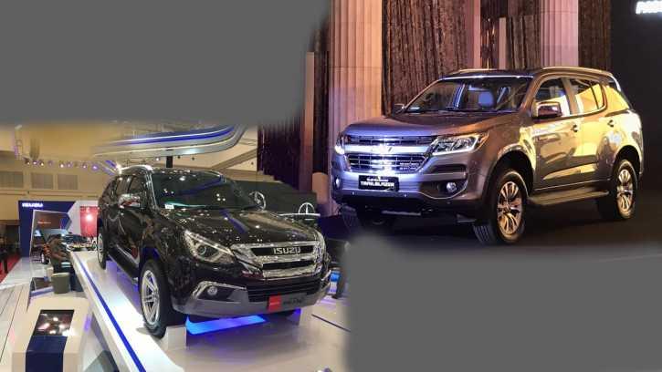 Komparasi  Dimensi Fitur Performa dan Harga Chevrolet Trailblazer vs Isuzu MU- & Komparasi : Dimensi Fitur Performa dan Harga Chevrolet ...