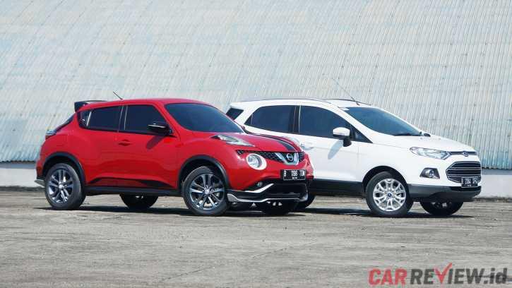 Nissan Juke Revolt Vs Ford Ecosport Titanium