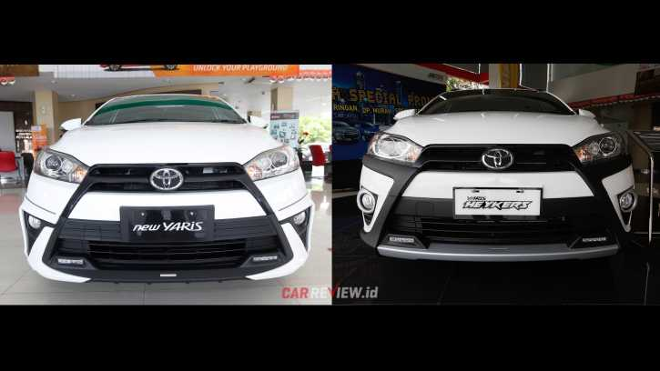 Komparasi Yaris Trd Sportivo Vs Yaris Heykers Car Review Indonesia