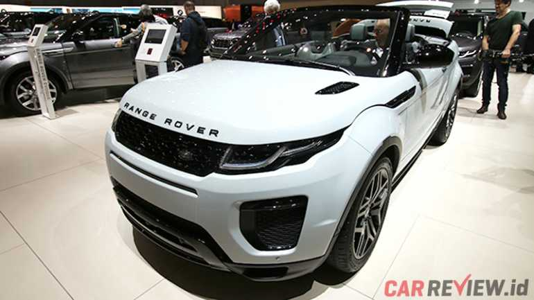 geneva motor show range rover evoque convertible. Black Bedroom Furniture Sets. Home Design Ideas